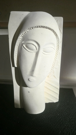 enseignement-travaux-eleves-Tete Modigliani