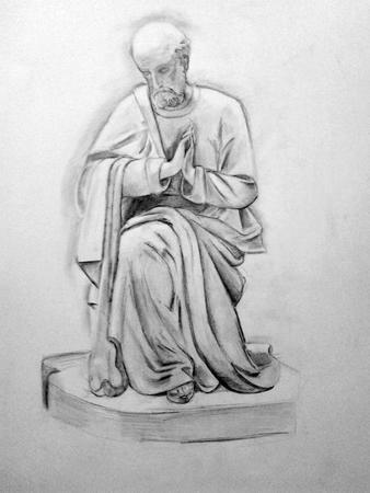 etude-dessin-Saint Joseph