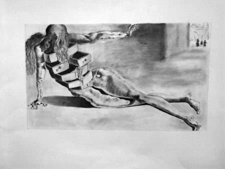 etude-dessin-L'Homme aux tiroirs