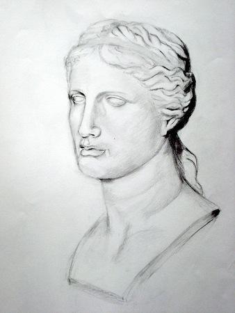 etude-dessin-Venus de Milo
