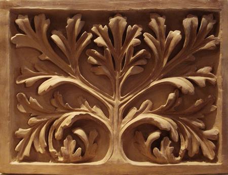 Etude-modelage-Bas Relief Notre-Dame de Paris