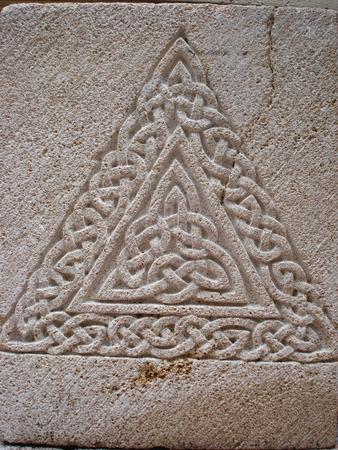 sculpture-gravure-Entrelacs Celtes