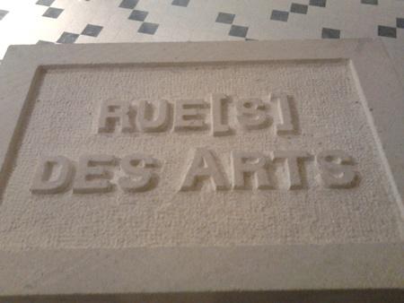 sculpture-gravure-Rues des Arts